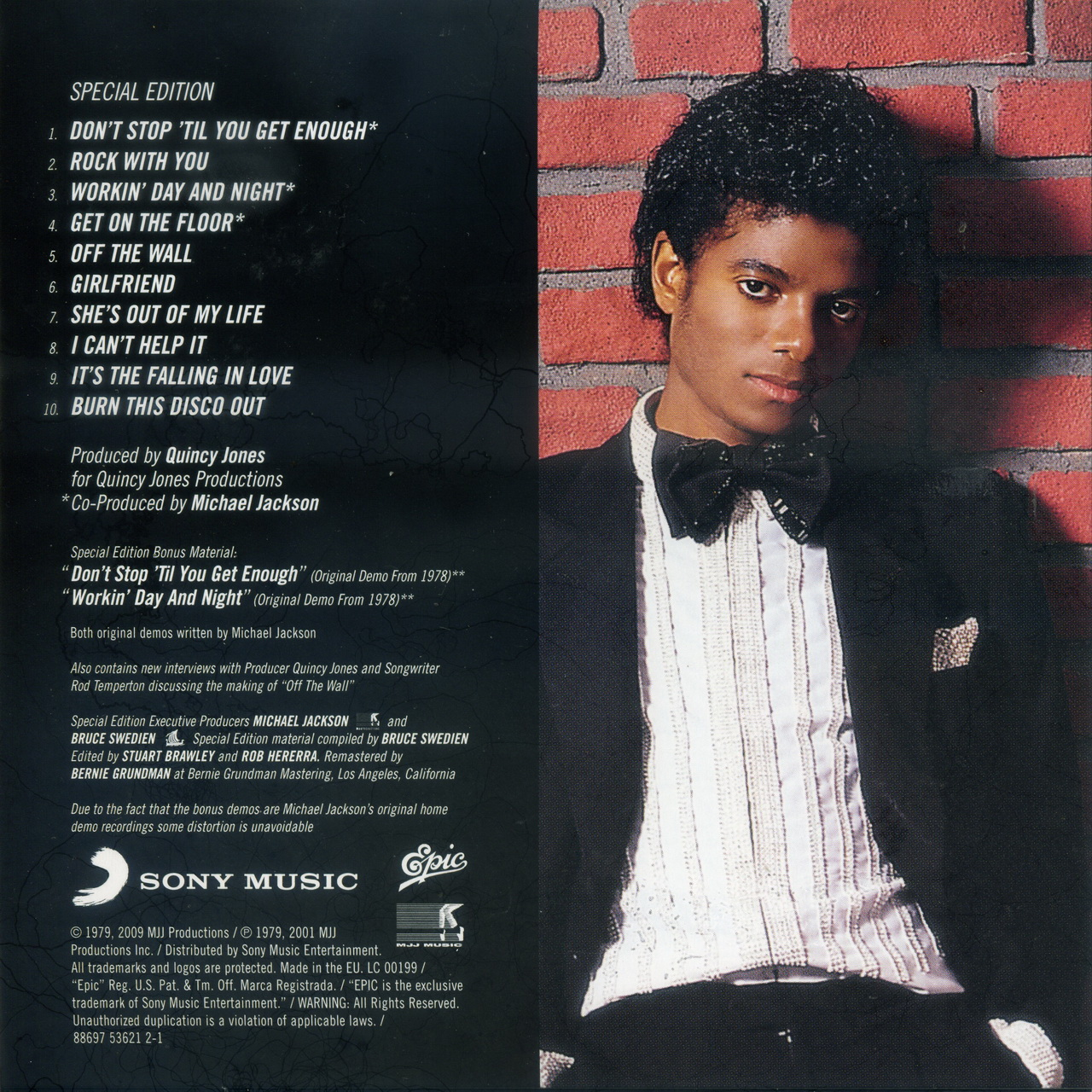 off the wall michael jackson 1979 lets face the music